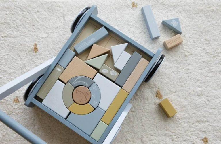 Co wasze dziecko może zbudować z drewnianych klocków?